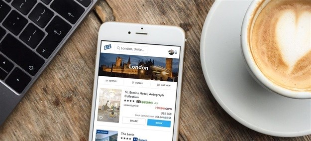 TRVL mobile search. Image supplied.