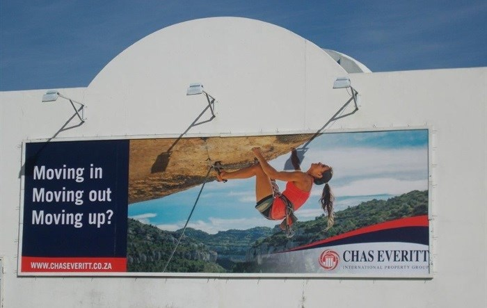 Chas Everritt books N2 billboard with Oasis Outdoor Media
