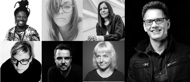 From left to right (first row): Neo Mashigo, Jenny Ehlers, Mariana O'Kelly, Pepe Marais. Second row: Jenny Glover, Francois Du Preez and Juliet Honey.