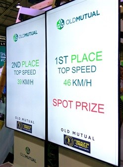 Moving Tactics Digital Impact creates Old Mutual's Pedal Power activations