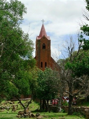 Mission Church, Botshabelo Mission Station. Andrew Hall via