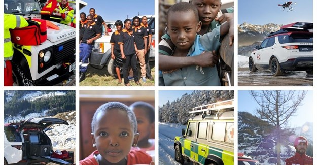 Jaguar Land Rover, Red Cross celebrate 64-year partnership with 'Mapathon'