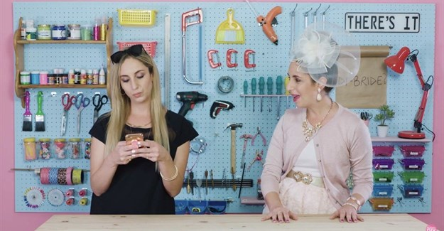 Tali Babes co-stars in new SuzelleDIY video