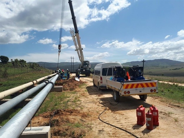 TDS Projects Construction to install 13km pipeline at Nkomati mine