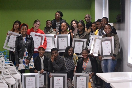 Joburg graduates with their certificates
