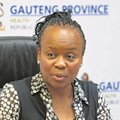 Gauteng health MEC Gwen Ramokgopa. Photo: Lisa Hnatowicz/Daily Sun