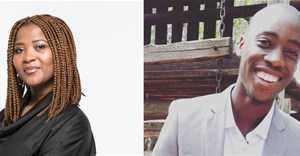 Palesa Madumo, executive director of strategy at Vuma Reputation Management and founder of Prisms Young Judges and Bongani Mogari, PR coordinator at Seven Colors Communications and 2017 Prisms Young Judge.