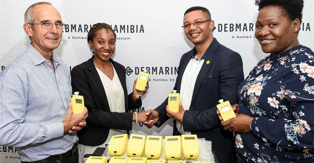 Launching the Debmarine Namibia campaign.