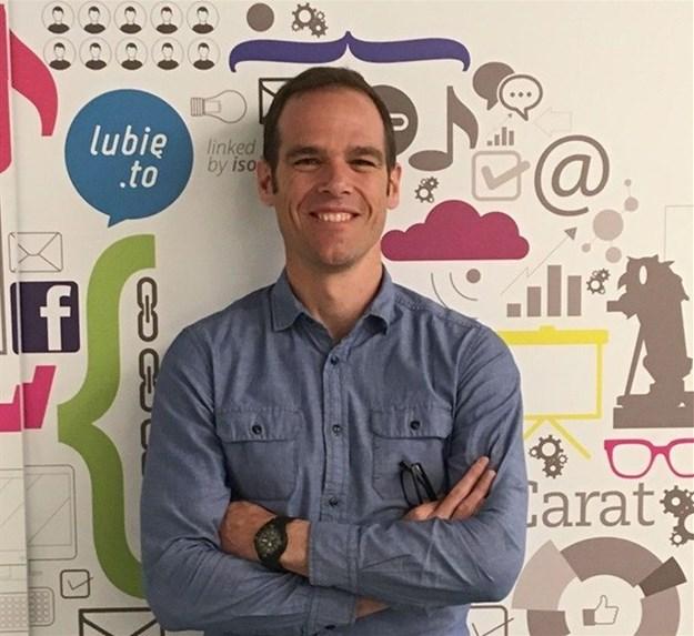 Graham Deneys, strategy director Carat Cape Town, Sub-Saharan Africa.