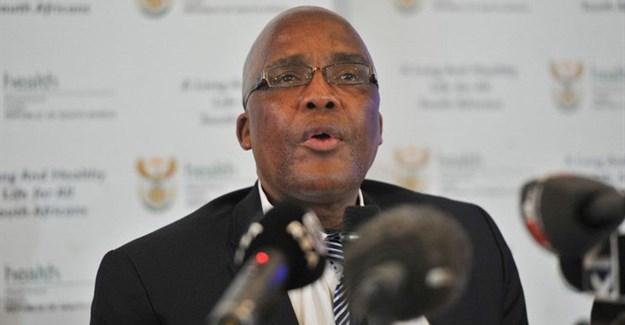Minister of Health, Dr Aaron Motsoaledi