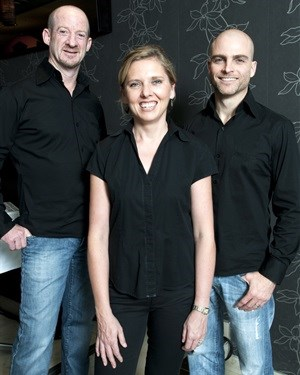 Michael Terespolsky, Kinga Baranowska and Greg Mommsen.