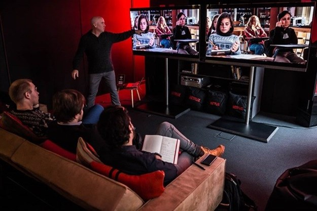Netflix presentation.