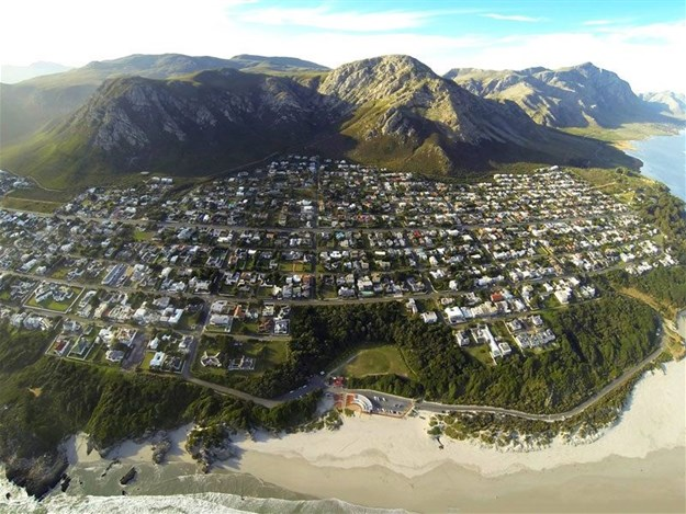 Louis Genade via . Hermanus - the suburb of Voelkip in the background and Grotto Beach