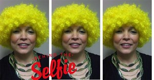 Because some days you just have to wear a crazy yellow afro. Why not!?