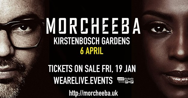 Morcheeba to perform in Cape Town