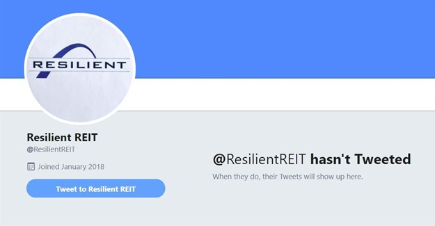 Resilient creates Twitter account after fake one set up in Des de Beer's name
