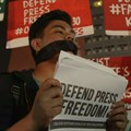 Journalists protest Philippine move to close news website