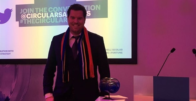 Western Cape Industrial Symbiosis Programme recognised at The Circulars 2018 in Davos