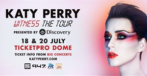 Katy Perry to tour South Africa