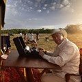 Peter Hayward (owner) and Celia du Preez (production executive), Hayward's Grand Safaris.