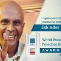 Ethiopian journalists Eskinder Nega and Woubshet Taye released
