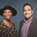 Boniswa Pezisa, BBDO South Africa group CEO and Gau Narayanan, Net#work BBDO MD.