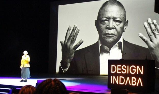 Hugh Masekela's sister, Barbara takes to the stage at Design Indaba. © .