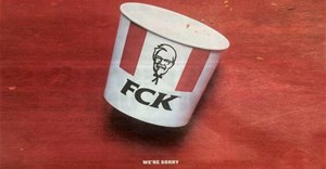 The full-page Metro ad by Mother London for KFC.