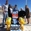 New amphibious wheelchairs makes SA Blue Flag beaches universally accessible