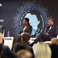 Deloitte panel at Africa Outlook 2018: (L-R) Hardy Pemhiwa, Sola David-Borha, MD Ramesh, and Sabine Dall'Omo.