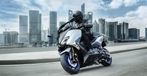 Capable, fun, practical and surprising. The 2018 Yamaha TMAX scooter now gets its own Sports Edition.(Credit: Yamaha)
