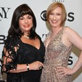 Charlotte St. Martin, president of the Broadway League and Heather Hitchens, president and CEO of the American Theatre Wing. Image provided.