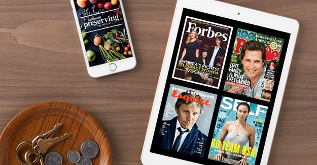 Apple buys digital magazine subscription service