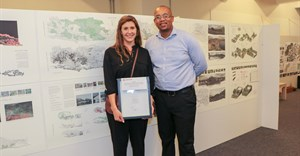 Louise Brukman wins Corobrik's Most Innovative Final Year Landscape Architecture Award 2017