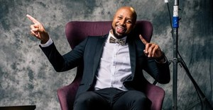 Phat Joe was the presenter at night one of the Saftas. © .