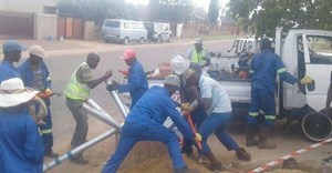 BT Conglomerate at work on one of their construction projects