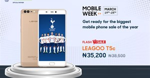 LEAGOO T5c available in flash sales on Jumia Mobile Week for ₦38,850