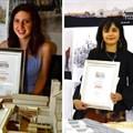 L-R: Finalists Renée Amelia Minnaar, Margeaux Adams, and Reply Mahlangu