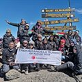 Thuli Madonsela team summits Kili in aid of dignity for women