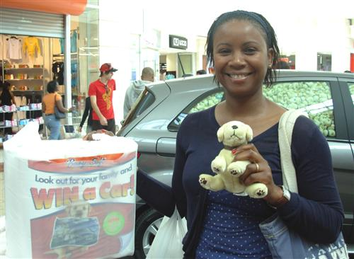 Zinto and Baby Soft bring in-mall campaign to life