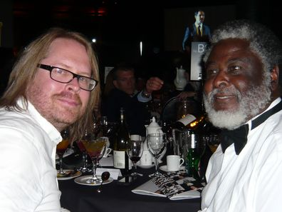 Damon Stapleton, Executive Creative Director and Wilf Mbanga, Editor of The Zimbabwean