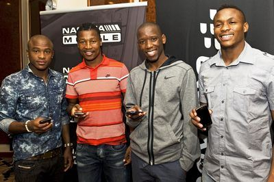 Bafana Bafana stars get connected with BlackBerry