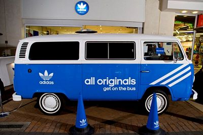Adidas Originals launches All Originals Get On The Bus