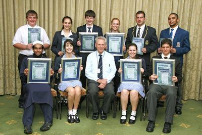 Finalists and Peter Waker Computer Olympiad Manager 2010 Awards