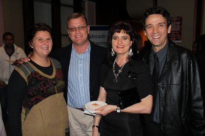 Susan Botha, Karel Botha, Monice Brand and Burger Brand