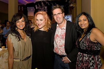 Carmel Fisher, Tamara Dey, Graham Wood (MD Tsogo Sun Hotels) and Priya Naidoo (Tsogo Sun Group Communications General Manager)