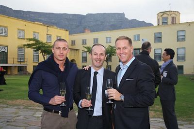 Magno Cristiani (Villa del Parco & Spa, Forte Village Resort, Sardegna, Italy); Valentino Piazzi (Hotel Lancaster, Paris France); Daniel Neumann (The Leading Hotels of the World)