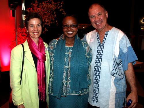 Karen Glen, Pumzile Simelane, Roger Lucey