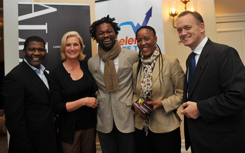 John, Alayne, Africa, Lele and Chris - Accelerate Cape Town Inspiration Session