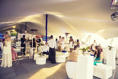 The G&G Live Marquee at the Durban July